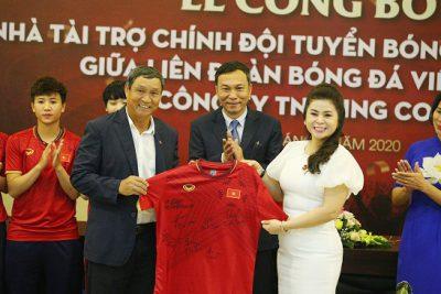 King Coffee tài trợ cho tuyển bóng đá Việt Nam