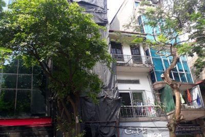 Quận Hoàn Kiếm: Công trình 9D Hàm Long, phường Phan Chu Trinh có vi phạm trật tự xây dựng đô thị ?
