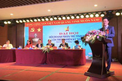 Ông Nguyễn Thế Dũng được bầu làm Chủ tịch Hội Doanh nhân trẻ Sơn La khóa I