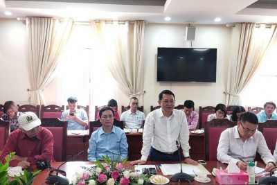 Đoàn báo chí Trung ương và Hà Nội đi thực tế tại huyện Mê Linh