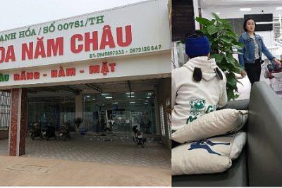 """Thị xã Nghi Sơn (Thanh Hóa): Ai """"chống lưng"""" để hàng loạt phòng khám Năm Châu hoạt động trái phép?"""