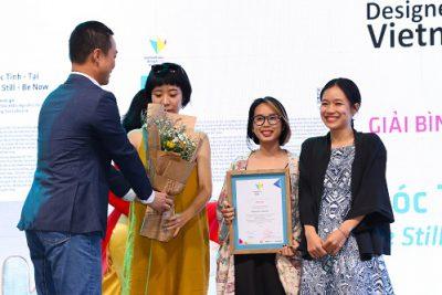 """Trao giải cuộc thi """"Designed by Vietnam"""" thuộc Tuần lễ Thiết kế Việt Nam 2020"""