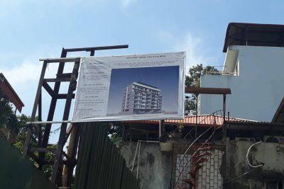 Người dân kịch liệt phản đối việc xây dựng nhà riêng lẻ cao 7 tầng, 2 hầm tại phường Phạm Đình Hổ