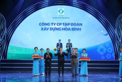 Tập đoàn Xây dựng Hòa Bình tiếp tục được vinh danh Thương hiệu quốc gia