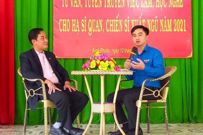 """Cùng """"mở lối"""" về việc làm cho thanh niên sắp xuất ngũ, C.P. Việt Nam lan tỏa điều tử tế"""