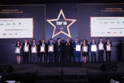 Vinh danh Top 10 doanh nghiệp công nghệ thông tin Việt Nam