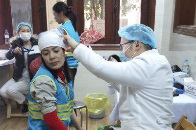 URENCO tổ chức khám sức khỏe người lao động ở địa bàn huyện Mỹ Đức