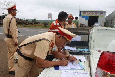 CSGT Đắk Nông nỗ lực kéo giảm tai nạn giao thông  giảm sâu trên cả 3 tiêu chí