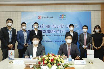 SeABank hợp tác chiến lược với FPT Smart Cloud