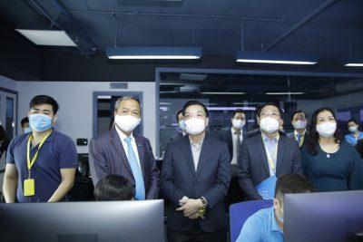 Chủ tịch Hà Nội tin tưởng CMC sẽ trở thành nhà cung cấp dịch vụ Điện toán đám mây hàng đầu khu vực