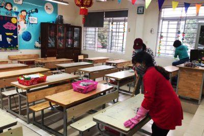 Hà Nội: 100% trường học hoàn thành vệ sinh, khử khuẩn