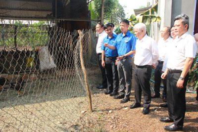 Thanh niên khởi nghiệp và xung phong tình nguyện tại Bình Phước được lãnh đạo tỉnh thăm hỏi, động viên