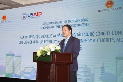 Dự án phát triển Năng lượng sạch ở Việt nam giảm phát thải khoảng 730.000 tấn khí nhà kính