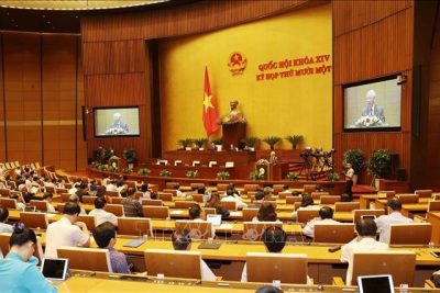 Hôm nay (5-4), Quốc hội bầu Chủ tịch nước, Thủ tướng Chính phủ