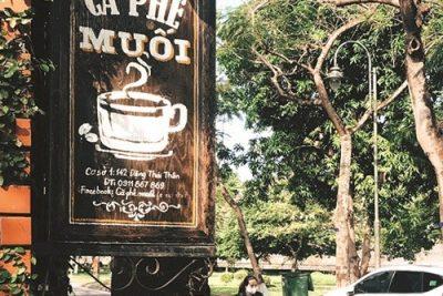 Cà phê… muối