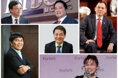 Việt Nam có 6 tỷ phú trong danh sách Forbes