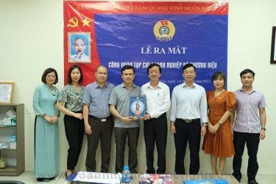 Lễ ra mắt Công đoàn cơ sở Tạp chí Doanh nghiệp và Thương hiệu