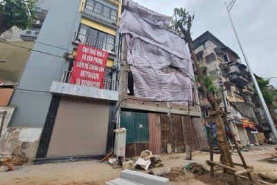"""Hà Nội: Công trình 189 Minh Khai có """"vi phạm"""" trật tự xây dựng?"""