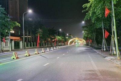 Thái Bình: Ngày đầu tiên toàn tỉnh thực hiện nghiêm giãn cách xã hội