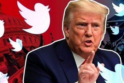 """Tweet """"thay mặt"""" ông Donald Trump cũng bị khóa tài khoản"""