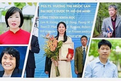 Chân dung 5 người Việt lọt top 100 nhà khoa học xuất sắc nhất châu Á