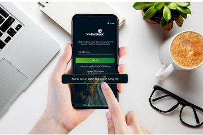 Vietcombank ra mắt dịch vụ mở tài khoản trực tuyến xác thực eKYC