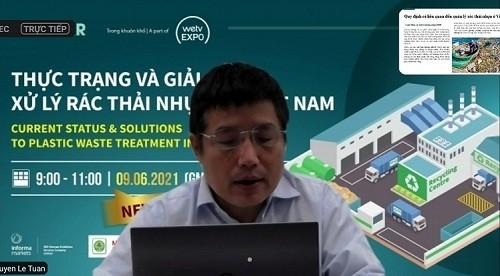 Tọa đàm 'Thực trạng và giải pháp xử lý rác thải nhựa tại Việt Nam'