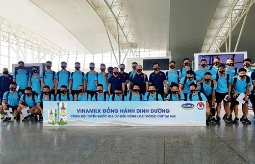 Vinamilk đồng hành cùng đội tuyển Quốc gia tại vòng loại World Cup
