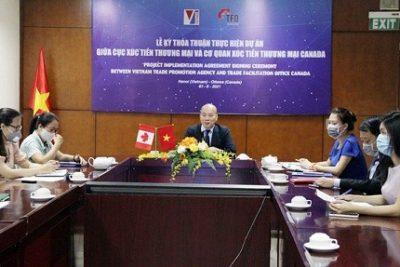Thỏa thuận hợp tác triển khai các hoạt động nâng cao năng lực xuất khẩu cho các doanh nghiệp do phụ nữ Việt Nam làm chủ