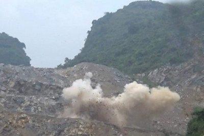 Hà Nam: sập mỏ đá tại Công ty Havico, 2 người chết và nhiều người thương vong