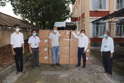 Tập đoàn Sun Group ủng hộ Tây Ninh hơn 10 tỷ đồng trang thiết bị y tế chống dịch Covid-19