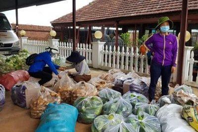 Người dân huyện Đắk Song hỗ trợ công nhân vùng dịch Tân Uyên, Bình Dương