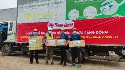 Công ty CP Bóng đèn Phích nước Rạng Đông bàn giao thiết bị tài trợ cho Bệnh viện dã chiến tại quận Hoàng Mai