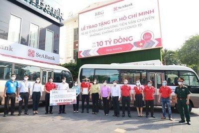 Tập đoàn BRG và SeABank chung tay hỗ trợ người dân TP. HCM