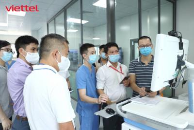Bệnh viện dã chiến hiện đại nhất Hà Nội được Viettel thiết kế hạ tầng CNTT