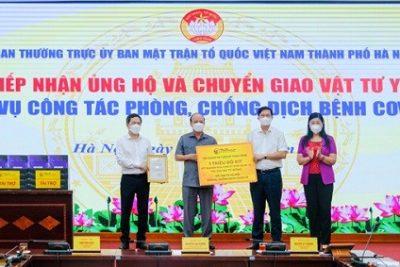 T&T Group trao tặng 1 triệu bộ kit xét nghiệm PRC Covid-19 trị giá 162 tỷ đồng
