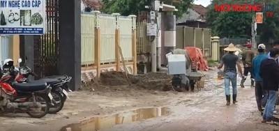 Quảng Ninh (Quảng Bình): Nhà thầu thi công ẩu trên công trình tiền tỷ?
