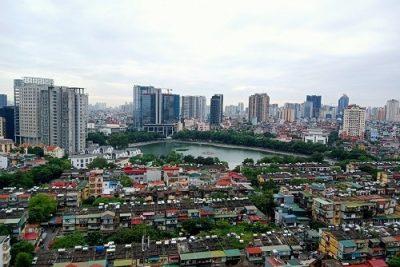 Chất lượng không khí nhiều khu vực Hà Nội ở mức tốt